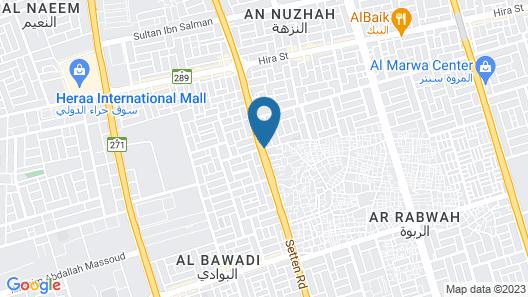 Elaf Al Jawad Al Abyad Residence Map
