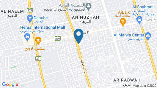 Al Eairy Furnished Apartments Jeddah 4 Map