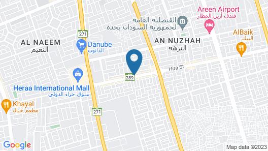 Durrat Hira Aparthotel  Map