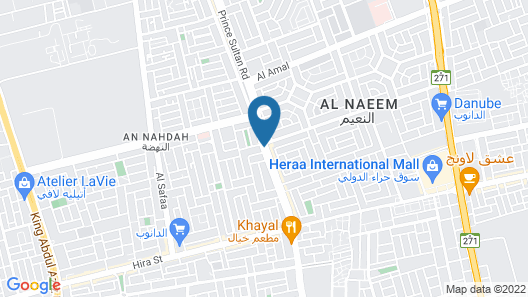 Mira Hotel Prince Sultan Road Jeddah Map