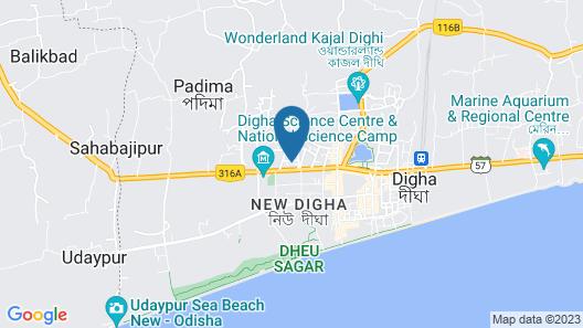 OYO 23151 Hotel Abani Map