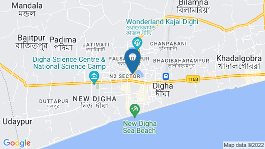 Park Prime New Digha Map