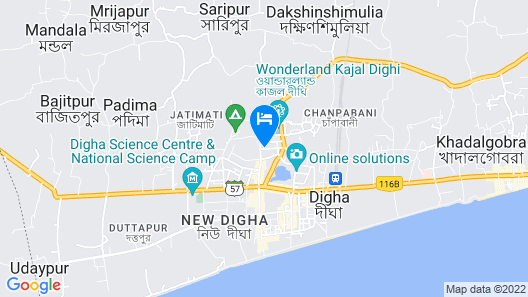 Goroomgo Chhabighar New Digha Map