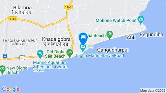 Hotel Purnima Map