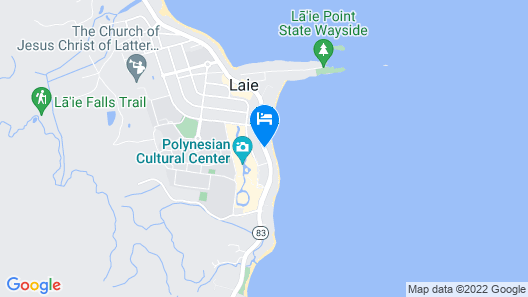 Courtyard by Marriott Oahu North Shore Map