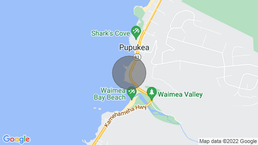 Waimea Point Oceanfront House -  (with Air Conditioning)  Map