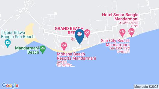 The Sana Beach Resort Map