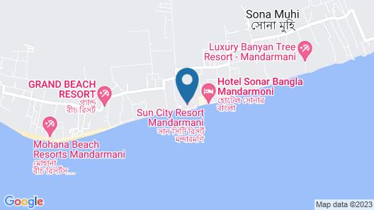 Suncity Resort Mandarmoni Map