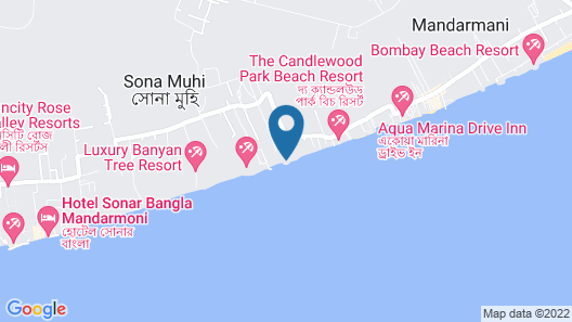 OYO 16977 Megha Resort Map