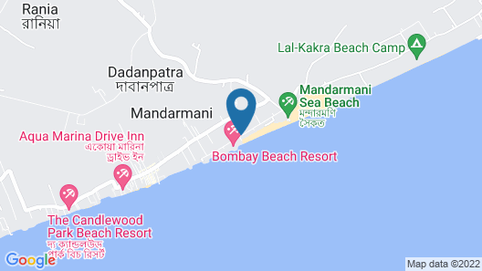 United-21 Beach View Mandarmoni Map