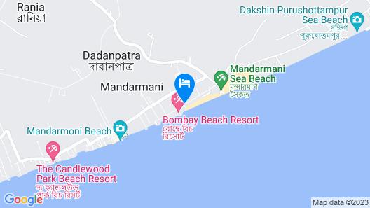 United-21 Beach View Mandarmoni Map