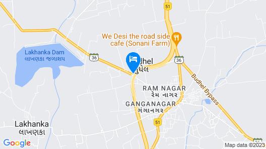 Top3 Lords Resort Bhavnagar Map