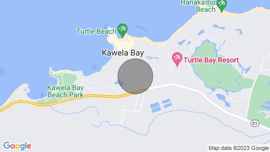 Hawaii Life Rentals Presents Turtle Bay West Studio With Loft Map
