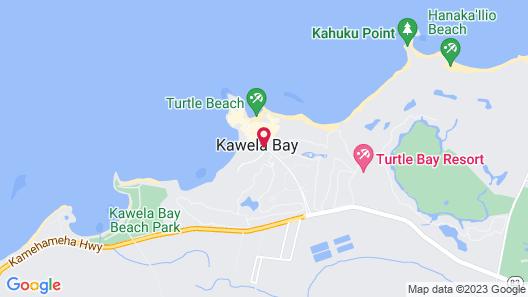 Ocean Villas at Turtle Bay Map
