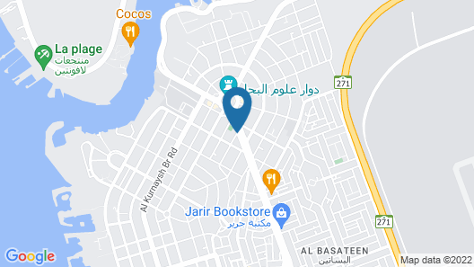 Quiet Dreams - King Abdul Aziz Street Map