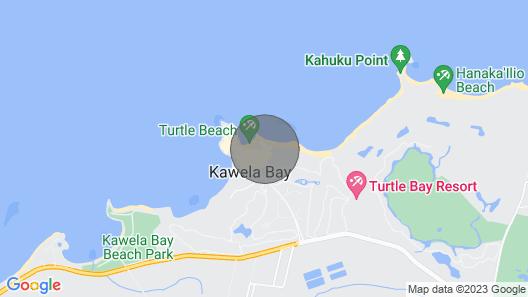 Luxury 3-bed Ocean Villa at Turtle Bay Map
