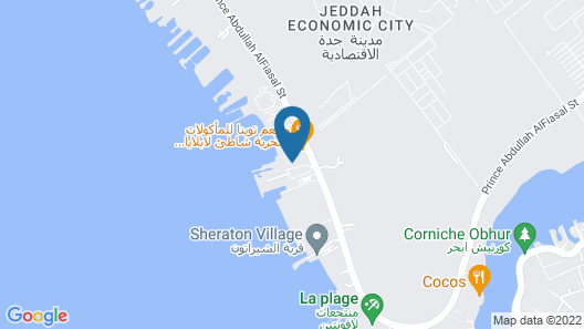 Narcissus Resort & spa Obhur Jeddah Map