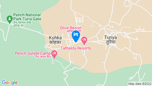 Olive Resorts & Villas Map