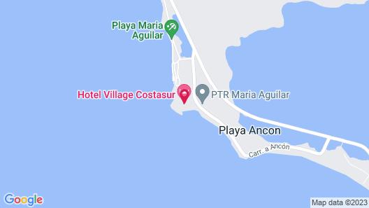 Hotel Village Costasur - All Inclusive Map