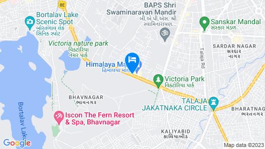 Hotel City Pride Map