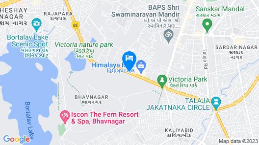 EFCEE Sarovar Portico Bhavnagar Map