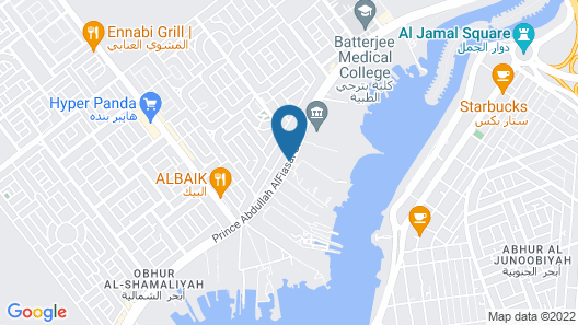 Makarem Annakheel Hotel & Resort Map
