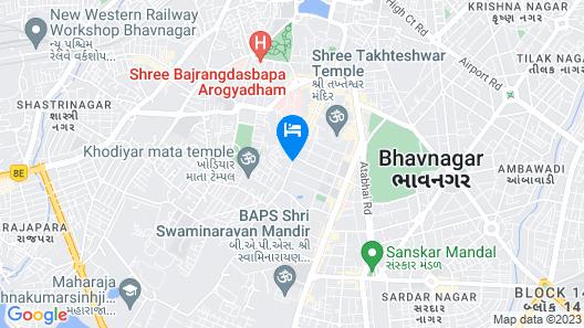 GenX Bhavnagar 1589 Map