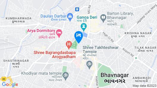Hotel Jubilee Map