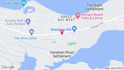 Kokomo Botanical Resort with Butler Service Map