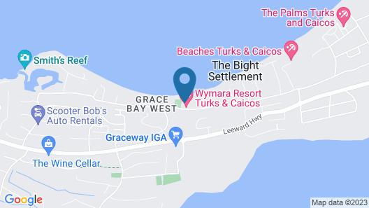 Wymara Resort and Villas Map