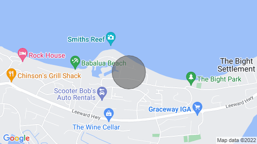 Grace Bay Beach Ocean Villas, Magnolia Villa. Rated #1 On Trip Advisor. Map