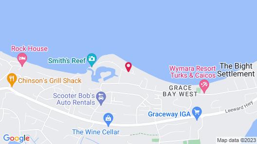 Grace Bay Beach Ocean Villas Map