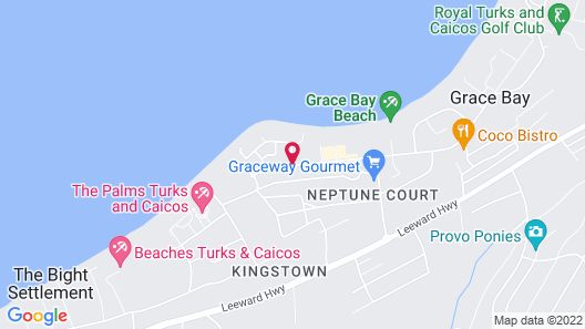 Inn at Grace Bay Map
