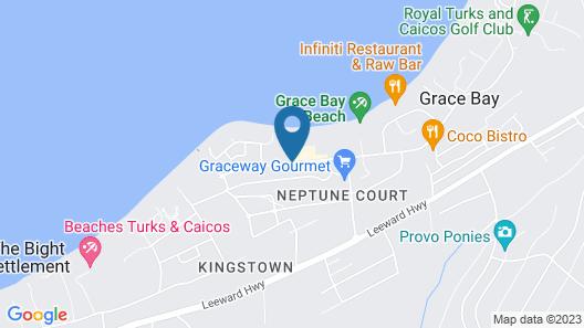 The Venetian on Grace Bay Map