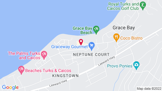THE ALL NEW GRACE BAY SUITES Map