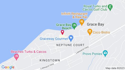 Bianca Sands on Grace Bay Map