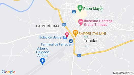 Hostal Los Hernadez Map