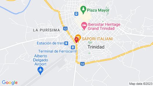 Hostal Eloida Map