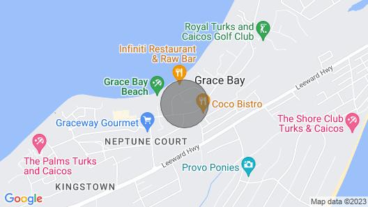 Corona Apartment Grace Bay Beach Map