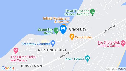 Villa del Mar Map