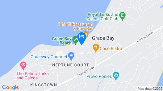 Ocean Club West Map