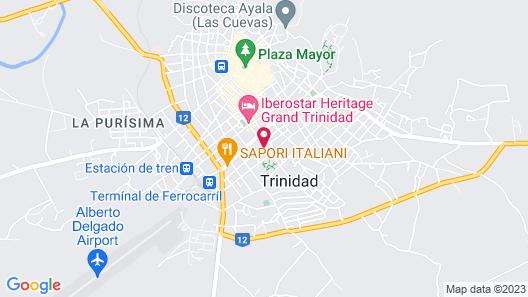 Hostal Casa Cubata Map
