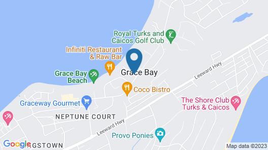 Royal West Indies Resort Map