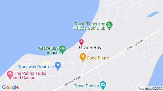 Grandview on Grace Bay Map