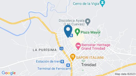 Casa Jesús María 407 Map