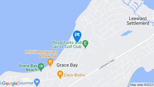 Ocean Club Resort Map