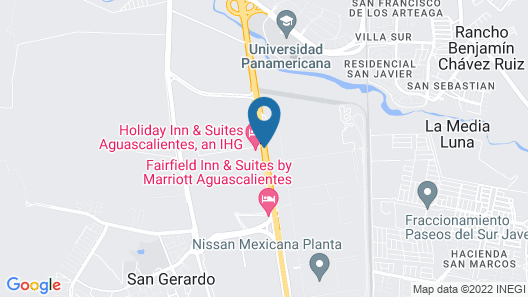 Holiday Inn & Suites Aguascalientes Map
