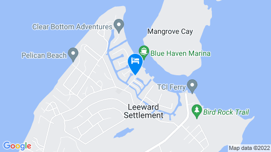 Blue Haven Resort - ALL-INCLUSIVE Map