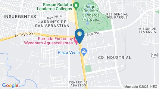 Ramada Encore by Wyndham Aguascalientes Map