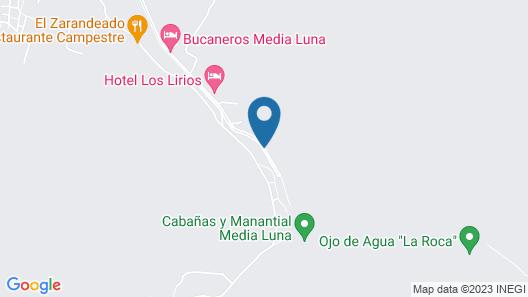 Hotel Los Lirios Map